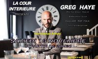 Greg Haye Live Session Cour Interieure